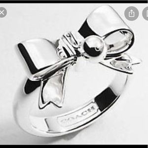 Coach Ribbon Bow Ring